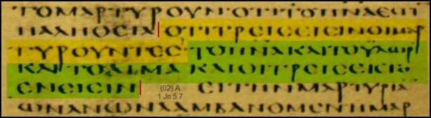 Alexandrinus-1jn5-7